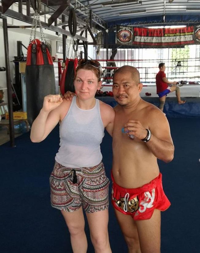 Sabrina a Bangkok